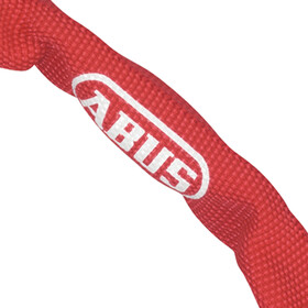 ABUS 5805C Steel-O-Chain Cykellås, red